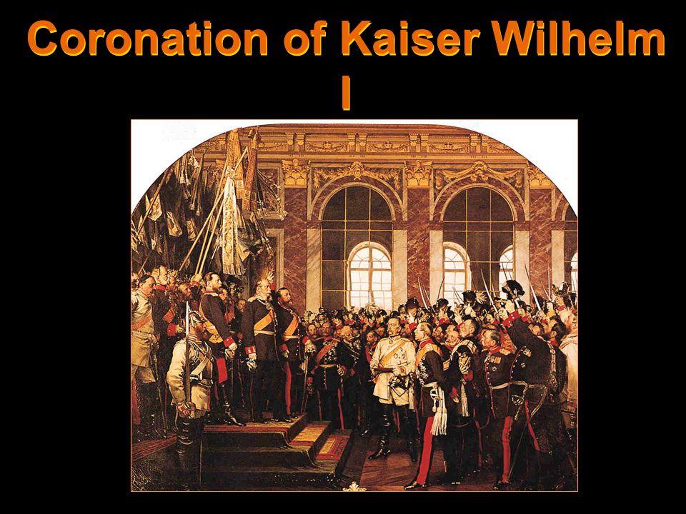Coronation of Kaiser Wilhelm I [r. 1871–1888]